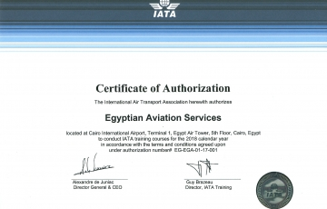 IATA Authorized