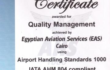 Airport Handling Standards 1000